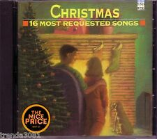 Christmas 16 Most Requested CD Classic Great JIMMY BOYD JULIE ANDREWS DORIS DAY