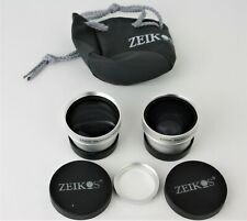 Zeikos 37mm Professional HD 2.5X Telephoto DC/DV & 0.45x Wide Angle w/Macro Lens