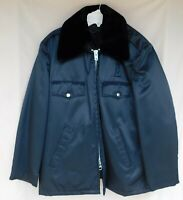 """Navy Blue Uniform Jacket Police Security Size 44 Short """"Union Made In The USA"""""""