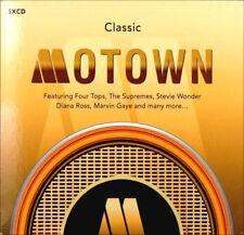 MOTOWN * 60 Greatest Hits * New Sealed 3-CD Boxset  * All Original Hits