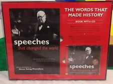Speeches That Changed the World (2007, Paperback)With Bonus 80 Minute CD