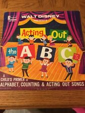 Walt Disney's Acting Out The Abcs Album