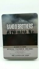 Band of Brothers (Dvd, 2002, 6-Disc Hbo Video Tin Box Set) Like New Nm+ War Dvds