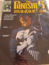 The PUNISHER MAGAZINE Marvel #10 (1990)