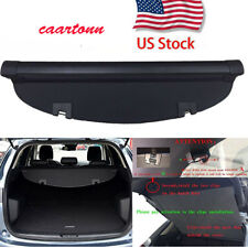 Black Cargo Cover Tonneau for Mazda CX-5 2013-2016 Retractable Security Shade