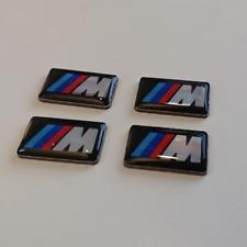 4 x BMW M Power Alu Felgen Emblem Aufkleber Logo Sticker Tacho Lenkrad 3D