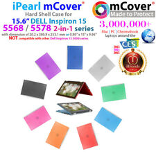 "NEW iPearl mCover Hard Case for 2017 15"" Dell Inspiron 15 5568 5578 2in1 laptop"
