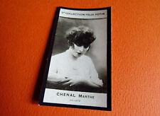 PHOTO IMAGE FELIX POTIN 3ème ALBUM 1920 CHENAL MARTHE ARTISTE COMEDIENNE