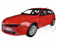 ALFA ROMEO 159 SW RED 1/24 DIECAST MODEL CAR BY MOTORMAX 73372