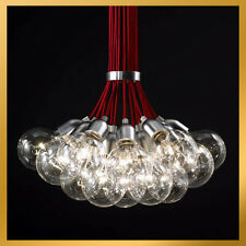 19 Lights - Red Idle Ilde Max Sea Urchins Glass Ceiling Pendant Lamp Chandelier