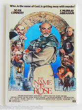 The Name of the Rose FRIDGE MAGNET (2 x 3 inches) movie poster sean connery