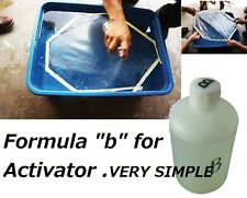 "HYDRODIP water-transfer printing ACTIVATOR""Hydrographics activator FORMULA"" B"""