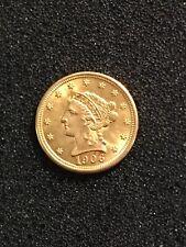 USA 1906 $2 1/2 Gold , High Grade