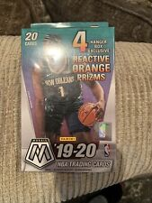 2019-20 Panini Mosaic NBA Basketball Trading Cards Hanger Box - 20 Cards Sealed