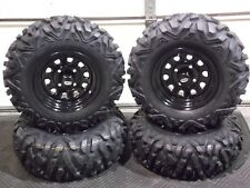"YAMAHA GRIZZLY 660   25"" QUADKING ATV TIRE ITP BLACK ATV WHEEL KIT IRS"