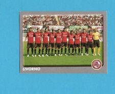 PANINI CALCIATORI 2008-2009- Figurina n.547-SQUADRA/TEAM-LIVORNO-NEW