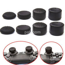 8pcs/Set Black Silicone Thumb Stick Grip Cover Caps For PS4 & Xbox One Controler