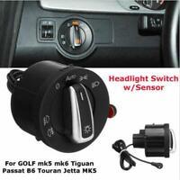 Scheinwerfer Licht Sensor Lichtsensor Schalter für VW Golf MK5 Jetta Passat B6