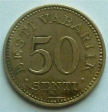 1936 ESTONIA - 50 SENTI - VERY HIGH GRADE - KM# 18 - BEAUTY!