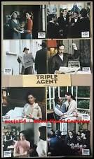 TRIPLE AGENT - Clair,Rohmer - JEU 8 PHOTOS / 8 FRENCH LOBBY CARDS