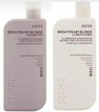 RPR BRIGHTEN MY BLONDE SHAMPOO & Conditioner DUO Pack New Packaging