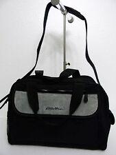 Eddie Bauer Weekender Diaper Bag - Black with Changing Pad