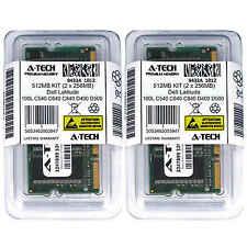 512MB KIT 2 x 256MB Dell Latitude 100L C540 C640 C840 D400 D500 Ram Memory