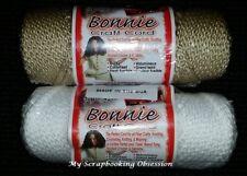 BONNIE CRAFT CORD 'MACRAME'  4mm x 50yd (You Choose Colour) Knotting/Weaving