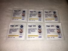 (6) Nivea In Shower Body Lotion Cocoa Butter Moisturizes Instantly .31 fl oz NEW