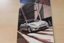 88509) Toyota Celica Prospekt 10/2002