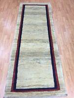 """2'9"""" x 7'9"""" New Indian Tribal Floor Runner Oriental Rug - Hand Made - Veg Dye"""