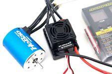 Hobbywing WP-10BL60-RTR Waterproof ESC Program Card 3900Kv Brushless Motor Combo