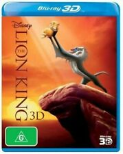 Disney The Lion King 3d 1-disc BLURAY Region ABC