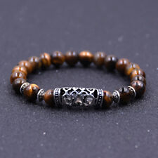 Fashion Natural Stone 8mm Gemstone Beads Women Men Bracelets Charm Jewelry Gift
