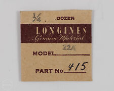 Longines Genuine Material Part #415 Winding Lever Spring for 22A