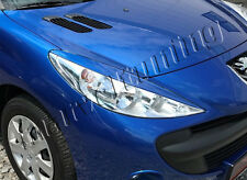PEUGEOT 206+ Headlight Lids Brows Eyebrows Eyelids DOES NOT FIT ordinary 206