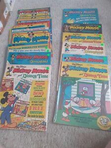 26 Vintage Disney Mickey Mouse Comics 1977 disneyland