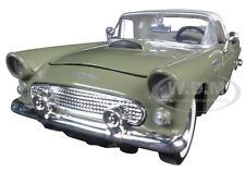 1956 FORD THUNDERBIRD SOFT TOP GREEN 1/24 DIECAST MODEL CAR BY MOTORMAX 73312