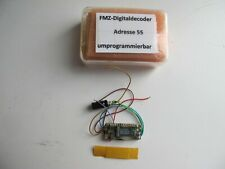 Fleischmann FMZ-Decoder 6844, Adresse 55, umprogrammierbar, geprüft