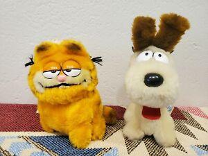 Vintage 1980s Garfield Odie Plush Toy Retro Stuffed Animal DAKIN 80 81