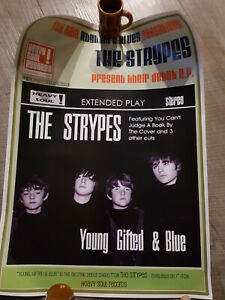 Strypes POSTER Debut release Young Gifted and Blue