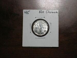 1945  Canada 5 cent No Chrome