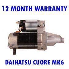 DAIHATSU CUORE MK6 MK VI 1.0 1998 1999 2000 2001 2002 - 2015 RMFD STARTER MOTOR