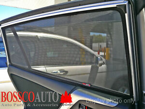 UV-Tested Rear Magnetic Sun Shades suitable for Volkswagen Tiguan Allspace 16-19