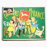 Livre Ancien Chansons de France Animé Album d'images Publicité Chocolat Poulain