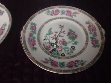 John Maddock And Sons England Indian Tree Cake plate 9 inches