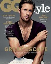 GQ Style Australia,Alexander Skarsgard TRUE BLOOD,Marc Jacobs,David Bowie NEW