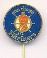 old SAN DIEGO MARINERS ice hockey PIN badge WHA California