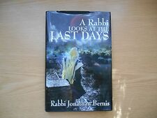 A Rabbi Looks at the Last Days by Jonathan Bernis (2008, Hardcover) Signed copy