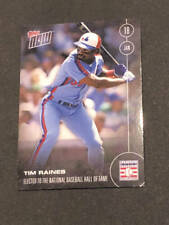 2017 Topps Now 46A Tim Raines Expos Election HOF Hall of Fame